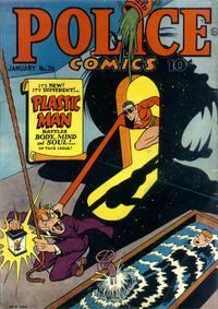 Cover Thumbnail for Police Comics (Quality Comics, 1941 series) #26