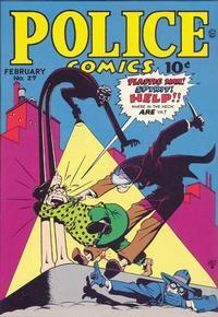 Cover Thumbnail for Police Comics (Quality Comics, 1941 series) #27