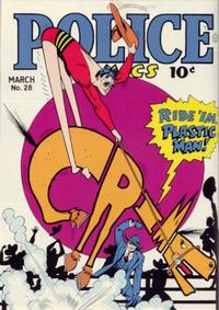 Cover Thumbnail for Police Comics (Quality Comics, 1941 series) #28