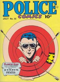Cover Thumbnail for Police Comics (Quality Comics, 1941 series) #32