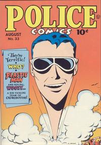 Cover Thumbnail for Police Comics (Quality Comics, 1941 series) #33