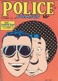Cover Thumbnail for Police Comics (Quality Comics, 1941 series) #35