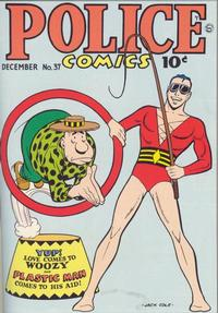 Cover Thumbnail for Police Comics (Quality Comics, 1941 series) #37