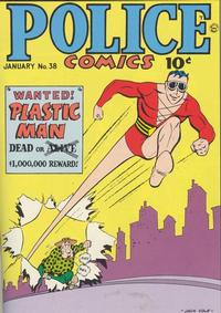 Cover Thumbnail for Police Comics (Quality Comics, 1941 series) #38