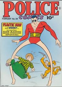 Cover Thumbnail for Police Comics (Quality Comics, 1941 series) #39