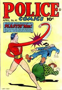 Cover Thumbnail for Police Comics (Quality Comics, 1941 series) #41