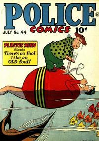 Cover Thumbnail for Police Comics (Quality Comics, 1941 series) #44