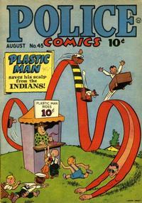 Cover Thumbnail for Police Comics (Quality Comics, 1941 series) #45