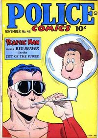 Cover Thumbnail for Police Comics (Quality Comics, 1941 series) #48