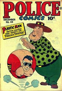 Cover Thumbnail for Police Comics (Quality Comics, 1941 series) #49