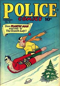 Cover Thumbnail for Police Comics (Quality Comics, 1941 series) #51