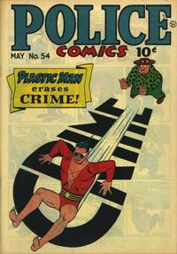 Cover for Police Comics (Quality Comics, 1941 series) #54