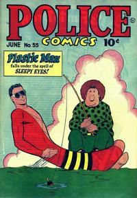 Cover Thumbnail for Police Comics (Quality Comics, 1941 series) #55