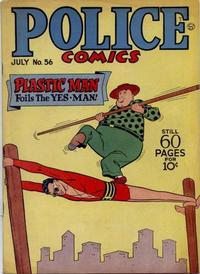 Cover Thumbnail for Police Comics (Quality Comics, 1941 series) #56
