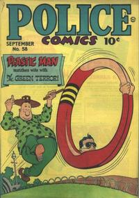 Cover Thumbnail for Police Comics (Quality Comics, 1941 series) #58