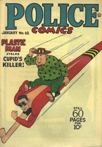Cover Thumbnail for Police Comics (Quality Comics, 1941 series) #62