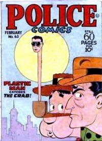 Cover Thumbnail for Police Comics (Quality Comics, 1941 series) #63