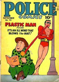Cover for Police Comics (Quality Comics, 1941 series) #70