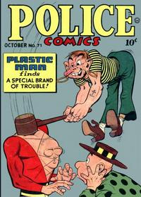 Cover Thumbnail for Police Comics (Quality Comics, 1941 series) #71
