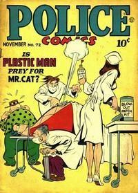 Cover for Police Comics (Quality Comics, 1941 series) #72