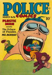 Cover Thumbnail for Police Comics (Quality Comics, 1941 series) #76
