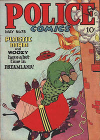 Cover Thumbnail for Police Comics (Quality Comics, 1941 series) #78