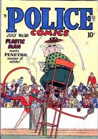 Cover Thumbnail for Police Comics (Quality Comics, 1941 series) #80