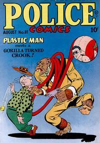 Cover Thumbnail for Police Comics (Quality Comics, 1941 series) #81
