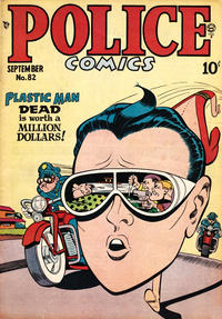Cover Thumbnail for Police Comics (Quality Comics, 1941 series) #82