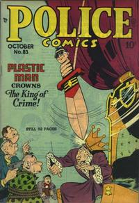 Cover Thumbnail for Police Comics (Quality Comics, 1941 series) #83