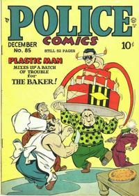 Cover for Police Comics (Quality Comics, 1941 series) #85