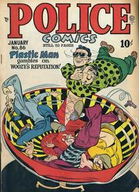 Cover Thumbnail for Police Comics (Quality Comics, 1941 series) #86