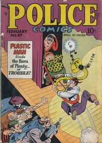 Cover Thumbnail for Police Comics (Quality Comics, 1941 series) #87