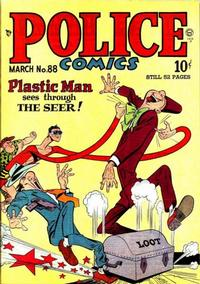 Cover Thumbnail for Police Comics (Quality Comics, 1941 series) #88