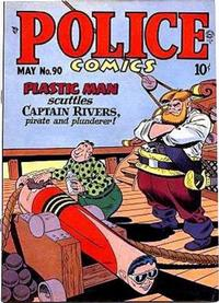 Cover Thumbnail for Police Comics (Quality Comics, 1941 series) #90