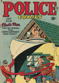 Cover Thumbnail for Police Comics (Quality Comics, 1941 series) #92