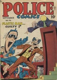 Cover Thumbnail for Police Comics (Quality Comics, 1941 series) #94