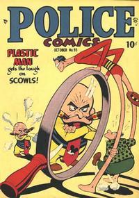 Cover Thumbnail for Police Comics (Quality Comics, 1941 series) #95