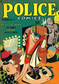 Cover Thumbnail for Police Comics (Quality Comics, 1941 series) #97