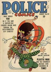 Cover Thumbnail for Police Comics (Quality Comics, 1941 series) #101