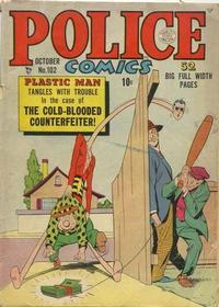 Cover Thumbnail for Police Comics (Quality Comics, 1941 series) #102