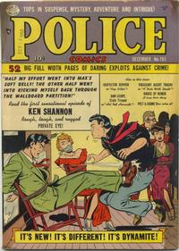 Cover for Police Comics (Quality Comics, 1941 series) #103