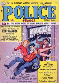 Cover Thumbnail for Police Comics (Quality Comics, 1941 series) #104