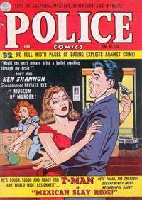 Cover Thumbnail for Police Comics (Quality Comics, 1941 series) #106