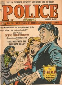 Cover Thumbnail for Police Comics (Quality Comics, 1941 series) #107