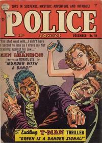 Cover Thumbnail for Police Comics (Quality Comics, 1941 series) #110