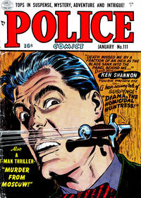 Cover Thumbnail for Police Comics (Quality Comics, 1941 series) #111