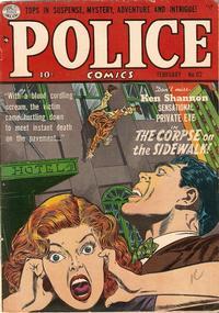 Cover Thumbnail for Police Comics (Quality Comics, 1941 series) #112