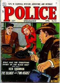 Cover for Police Comics (Quality Comics, 1941 series) #114