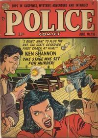 Cover Thumbnail for Police Comics (Quality Comics, 1941 series) #116